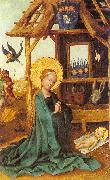 Lochner, Stephan Adoration of the Child oil painting