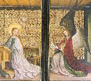Lochner, Stephan Annunciation oil painting