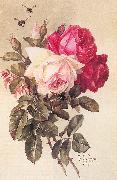 Longpre, Paul De Roses and Bumblebees oil painting picture wholesale