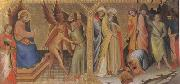 Lorenzo Monaco The Meeting between st James Major and Hermogenes (mk05) oil painting