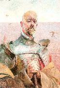 Malczewski, Jacek Self-Portrait in Armor oil painting picture wholesale