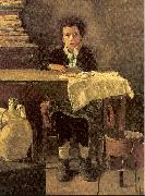 Mancini, Antonio The Poor Schoolboy oil painting