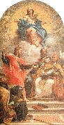 Maratta, Carlo The Assumption and the Doctors of the Church oil painting picture wholesale