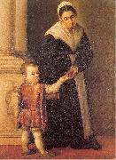 Marescalca, Pietro Child with Nurse oil painting picture wholesale