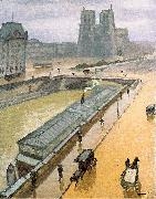 Marquet, Albert Rainy Day in Paris oil painting