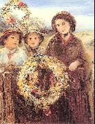 Marshall, Thomas Falcon May Day Garlands oil painting picture wholesale
