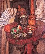Mashkov, Ilya Still-Life with a Fan oil painting picture wholesale