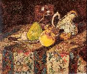 Monticelli, Adolphe-Joseph Still Life with White Pitcher oil painting artist