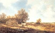 Moscher, Jacob van Dune Landscape with Farmhouse oil painting artist