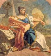 Mura, Francesco de Allegory of the Arts oil painting reproduction