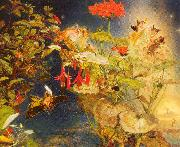 Naish, John George Elves and Fairies: A Midsummer Night's Dream oil painting picture wholesale