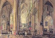Neeffs, Peter the Elder Interior of the Cathedral at Antwerp oil painting picture wholesale