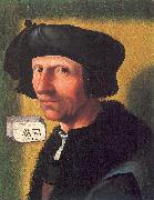 Oostsanen, Jacob Cornelisz van Self-Portrait oil painting reproduction