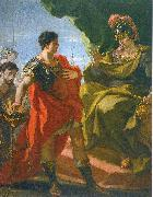 PELLEGRINI, Giovanni Antonio Mucius Scevola before Porsenna oil painting picture wholesale