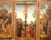 The Crucifixion with the Virgin and Saints