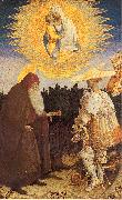 PISANELLO The Virgin Child with Saints George Anthony Abbot oil painting picture wholesale