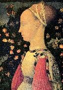 PISANELLO Portrait of Ginerva d'Este oil painting picture wholesale