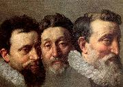 Head Studies of Three French Magistrates