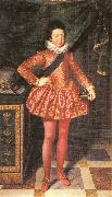 POURBUS, Frans the Younger Portrait of Louis XIII of France at 10 Years of Age oil painting reproduction