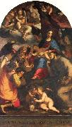 Madonna and Child with Saints and the Archangel Raphael