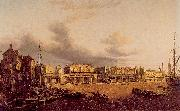 Paul, John View of Old London Bridge as it was in 1747 oil painting picture wholesale