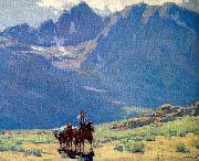 Payne, Edgar Alwin Sierra Trail oil painting picture wholesale