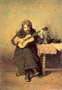 Perov, Vasily The Bachelor Guitarist oil painting picture wholesale