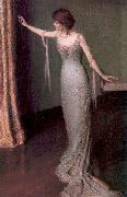 Lady in an Evening Dress