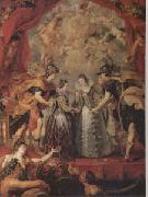 Peter Paul Rubens The Exchange of Princesses (mk05) oil painting picture wholesale