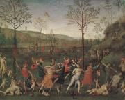 Pietro Vannuci called il Perugino The Combat of Love and Chastity (mk05) oil painting picture wholesale