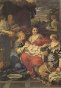 Pietro da Cortona Nativity of the Virgin (mk05) oil painting picture wholesale
