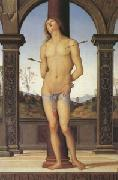 Pietro vannucci called IL perugino st Sebastian (mk05) oil painting picture wholesale