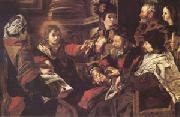 SERODINE, Giovanni Jesus among the Doctors (mk05) oil painting picture wholesale