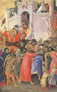Simone Martini The Carrying of the Cross (mk05) oil painting picture wholesale