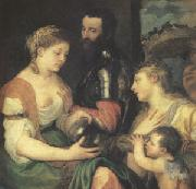 Titian An Allegory (mk05) oil painting artist