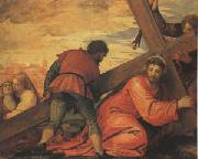 Veronese and Studio rJesus Falls under the Weight of the Cross (mk05) oil painting picture wholesale