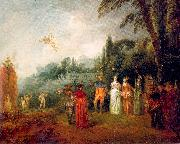 WATTEAU, Antoine The Island of Cythera oil painting picture wholesale