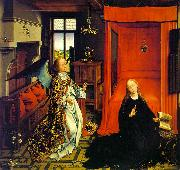 WEYDEN, Rogier van der The Annunciation oil painting reproduction