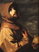 ZURBARAN  Francisco de St. Francis oil painting picture wholesale