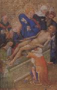 school of paris or Burgundy The Entombment of Christ (mk05) oil painting artist
