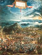 Albrecht Altdorfer Alexander's Victory (mk08) oil painting reproduction
