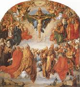 Albrecht Durer The Adoration of the Trinity (mk08) oil painting reproduction