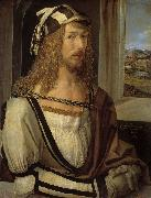 Albrecht Durer Self-portrait (mk08) oil painting reproduction