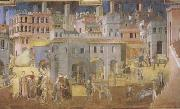 Ambrogio Lorenzetti Life in the City (mk08) oil painting picture wholesale