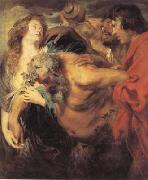 Anthony Van Dyck The drunken silenus (mk03) oil painting picture wholesale