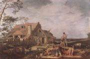 BLOEMAERT, Abraham Landscape with Peasants Resting (mk08) oil painting reproduction