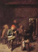 Peasants Smoking and Drinking (mk08)