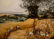 BRUEGEL, Pieter the Elder The Corn Harvest (mk08) oil painting reproduction