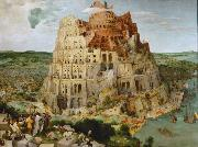 BRUEGEL, Pieter the Elder The Tower of Babel (mk08) oil painting reproduction