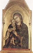 Barnaba Da Modena Madonna and Child (mk080 oil painting reproduction